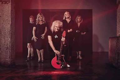"""Esta es la gran razón por la que Brian May apuesta por tener """"la guitarra más rosa del mundo"""""""