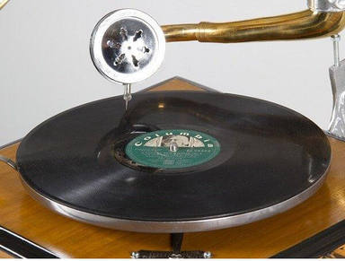 Gramófono aguja