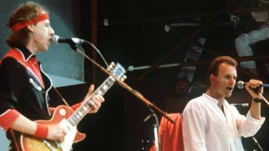"""Sting (The Police) y Mark Knopfler (Dire Straits) y la situación de """"Money for Nothing"""""""