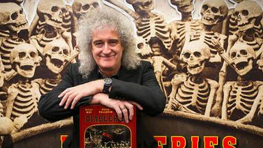 """El """"terrorífico"""" dibujo de Brian May (Queen) que ha """"embrujado"""" al guitarrista"""