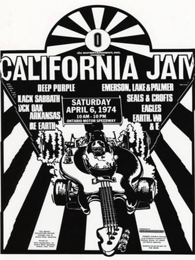 California Jam (1974) - Cartel