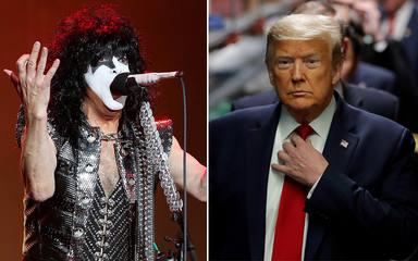 """Paul Stanley (KISS) ataca a Donald Trump por sugerir que en noviembre """"habrá elecciones amañadas"""""""