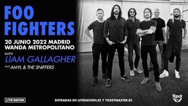 Foo Fighters tocarán, junto a Liam Gallagher, en el Wanda Metropolitano de Madrid en junio de 2022