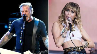 Metallica actuará con Miley Cyrus: este será el lugar en el que lo harán