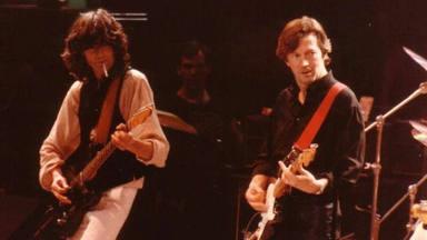 Jimmy Page (Led Zeppelin) la espectacular noche en la que se hizo amigo de Eric Clapton