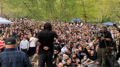 Un multitudinario concierto de hardcore en Nueva York hace saltar todas las alarmas