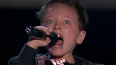 """Este niño canta """"Highway to Hell"""" de AC/DC en La Voz y su interpretación haría sentir orgulloso a Bon Scott"""