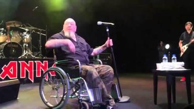 """Paul Di'Anno, el cantante """"clásico"""" de Iron Maiden, pide ayuda ante su pésimo estado de salud"""