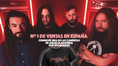 ¡Celebramos el nº1 de Angelus Apatrida sorteando camisetas de la banda!