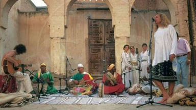 Jimmy Page y Robert Plant en Marruecos