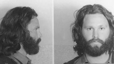 Jim Morrison tras ser arrestado