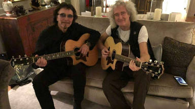 Brian May (Queen) alimenta la esperanza de que su proyecto musical con Tony Iommi (Black Sabbath) vea la luz