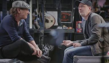 """Brian Johnson (AC/DC) le da su opinión sincera sobre """"Enter Sandman"""" a Lars Ulrich (Metallica)"""