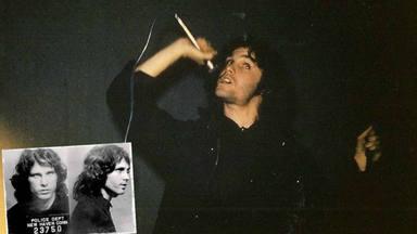 Jim Morrison, primera estrella del rock en ser arrestada en directo