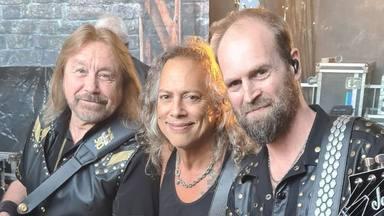 Judas Priest ficha a Kirk Hammett (Metallica) por una noche: así ha sido su espectacular colaboración