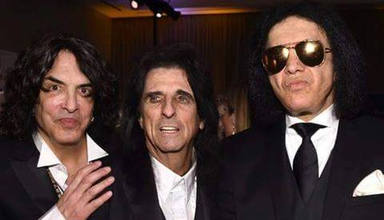 """Alice Cooper y Paul Stanley (Kiss) vuelven a """"chocar"""" sobre el regreso de los grandes conciertos"""