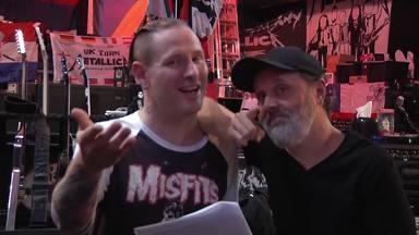 """Corey Taylor (Slipknot) defiende a Lars Ulrich (Metallica) por el escándalo de Napster: """"Tenía la razón"""""""