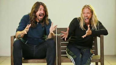 Taylor Hawkins (Foo Fighters) explica cómo le afecta la presión de tocar para Dave Grohl