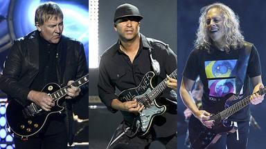 ¿Qué traman los guitarristas de Rush, Rage Against the Machine y Metallica juntos?