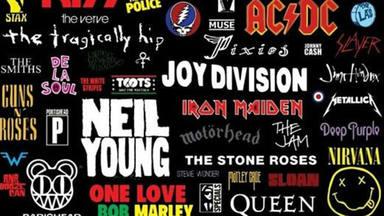 ¿Qué banda tiene más canciones en la lista del RockFM 500?