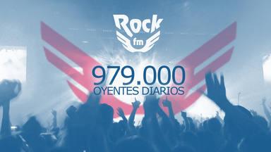 RockFM consigue un gran resultado en el EGM: somos 979.000 amantes del rock