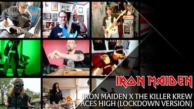 """Adrian Smith (Iron Maiden) reúne a todo el equipo de la banda para grabar su propio videoclip de """"Aces High"""""""