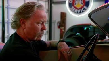 James Hetfield (Metallica) te enseña su bestial colección de coches