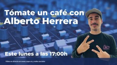 Alberto Herrera se toma un café este lunes con los oyentes de COPE y RockFM
