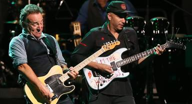 """Tom Morello (RATM) y su ansiedad la primera vez que tocó con Bruce Springsteen: """"Le llaman el Boss por algo"""""""