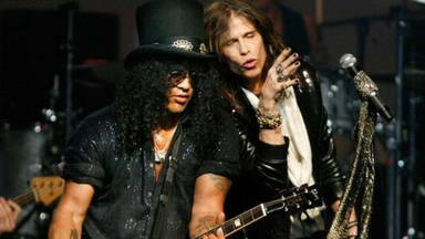 La desgarradora crítica de Slash (Guns N' Roses) a Aerosmith en su entrevista inédita