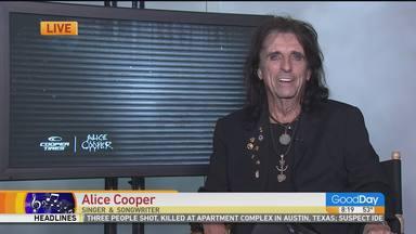 """Alice Cooper estuvo """"noqueado"""" tres semanas después de contraer COVID-19"""