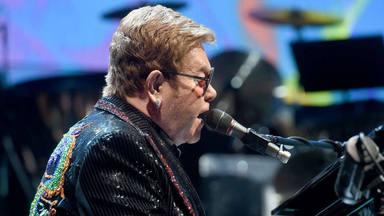 Elton John en concierto en el Olympic Hall de Munich