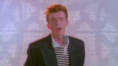 "Rick Astley - ""Never Gonna Give You Up"""