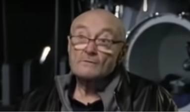 """La dramática situación de Phil Collins: """"A penas puedo sostener una baqueta"""""""