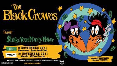The Black Crowes anuncian su nueva fecha en Madrid y añaden un concierto en Barcelona