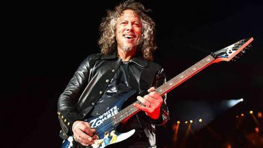 La escueta actualización de Kirk Hammett sobre el nuevo disco de Metallica