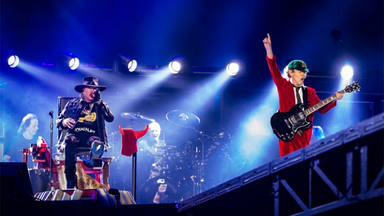 Axl Rose con AC/DC
