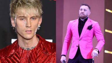 """La tremenda pelea entre Conor McGregor y Machine Gun Kelly: """"Estaba listo para meterle un puñetazo"""""""