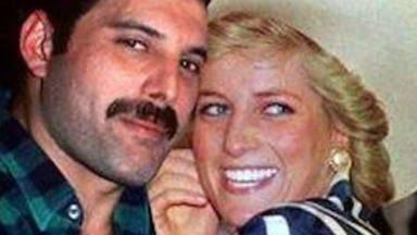Freddie Mercury y Diana de Gales