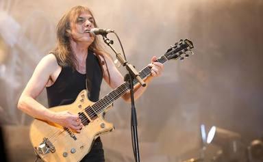 """La crítica de Malcolm Young al primer cantante de AC/DC en una entrevista inédita: """"Era muy malo"""""""