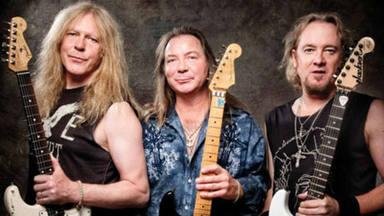 """¿Cómo se reparten los solos los tres guitarristas de Iron Maiden? """"Ninguno de ellos tiene ego"""""""