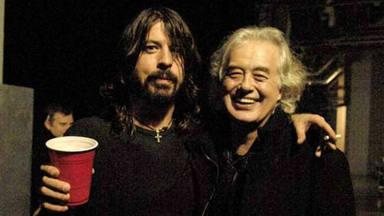 Jimmy Page (Led Zeppelin) desvela el potente proyecto musical para el que Dave Grohl no le llamó