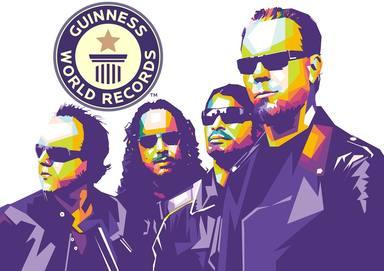 Los récords Guinness del rock
