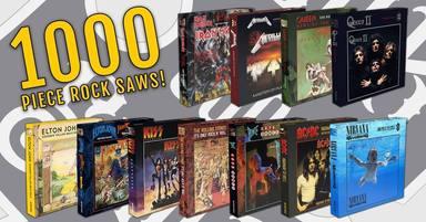 Puzzles rockeros de AC/DC, Nirvana, Kiss, Queen o Iron Maiden (RockFM)