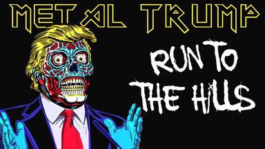 "Así suena ""Run to the Hills"" de Iron Maiden interpretada por Donal Trump"