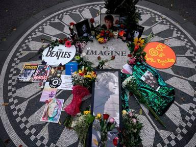Mosaico de Imagine en Central Park
