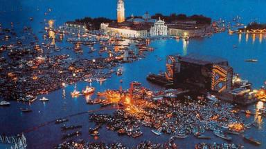 Pink Floyd en directo en Venecia en 1989