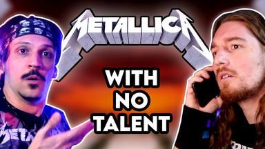 """Creó una canción de Metallica """"sin tener talento"""" basándose en los consejos de James Hetfield"""