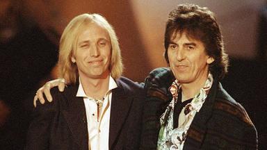 George Harrison y Tom Petty