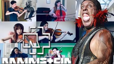 Esta banda de músicos de orquesta ha versionado a Rammstein desde sus casas... y el resultado es espectacular